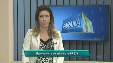 Homem morre em acidente na BR 376, perto de Alto Paraná - Segundo a polícia, ele perdeu o controle da direção numa curva.