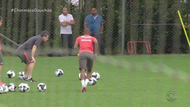Inter treina para jogo contra o São Paulo-RG marcado para domingo (10) no Beira-Rio - Confronto será transmitido pela RBS TV.