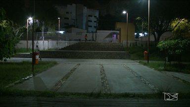 Área de lazer do Parque Bom Menino, em São Luís, sofre com falta de manutenção - Espaço foi revitalizado em 2012, mas não recebe manutenção.