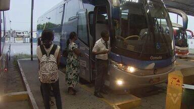 Rodoviária de São Vicente permanece sem mudanças - Secretaria de Transportes afirmou que as atividades da rodoviária no Mercado Municipal vão acontecer de forma gradativa.