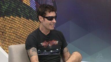 Banda Capital Inicial faz show em Manaus - Vocalista comenta sobre apresentação em Manaus.