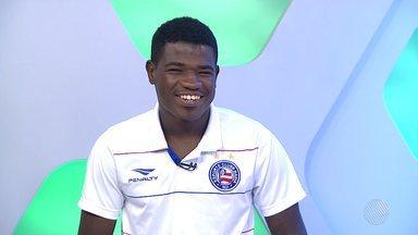 Feijão é o convidado do estúdio do GE desta sexta (15) - Atleta do Bahia faz uma análise da situação atual do time e da própria carreira.