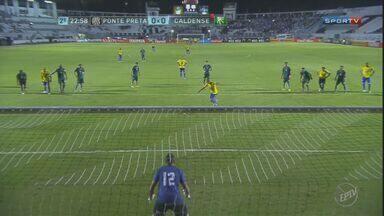 Ponte Preta elimina Caldense com vitória pela Copa do Brasil - Placar foi de 1 a 1. Partida aconteceu na quinta-feira (14).