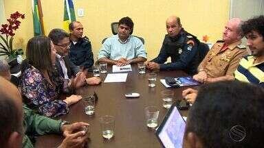 SSP de Sergipe vai montar esquema de segurança para manifestações - SSP de Sergipe vai montar esquema de segurança para manifestações