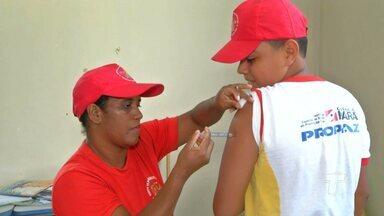 Projeto 'Escola da Vida' realiza dia de cuidados com a Saúde em Santarém. - Iniciativa é do Corpo de Bombeiros e atende crianças e adolescentes.