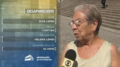 Veja depoimento de mulher que procura irmã - A irmã estaria morando em Ubiratã.
