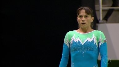 Ginasta de 40 anos vai disputar as os jogos do RIo 2016 - Oksana Chusovitina, do Uzbequistão, vai disputar a sétima olimpíada.