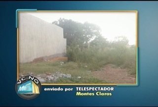 VC no MG: Moradores do Bairro Independência, em MOC, reclamam de poeira e mato alto - Moradores de outros bairros também enviaram reclamações.