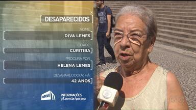 Desaparecidos - Confira o depoimento das pessoas que procuram por parentes desaparecidos. São pessoas que foram na Praça Santos Andrade no dia 18 de abril
