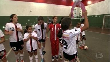 Paixão pelo esporte: São Paulo tem primeira liga de futebol amador feminino - Paixão pelo esporte: São Paulo tem primeira liga de futebol amador feminino