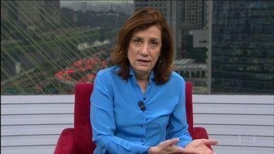 Miriam Leitão comenta dívida dos estados - Nesta quarta-feira (27), o STF decide se vai dar desconto na taxa de juros cobrada dos estados. Miriam ressalta que essa questão pode afetar a dívida do Tesouro.