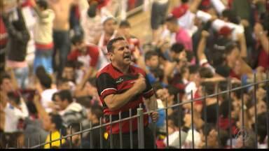 Torcida da Raposa está confiante no título - Rubro-negros apostam na conquista do bicampeonato da Copa do Nordeste.