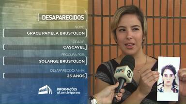 Filha procura mãe que teria ido morar no Paraguai - Mulher está desaparecida há 25 anos.