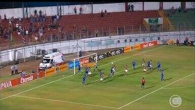 Parnahyba sofre gol no fim do jogo e dá adeus a Copa do Brasil - Parnahyba sofre gol no fim do jogo e dá adeus a Copa do Brasil