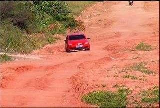 Ruas do Bairro Campo Alegre, em Juazeiro, estão sem pavimentação e sem vias - Ruas do Bairro Campo Alegre, em Juazeiro, estão sem pavimentação e sem vias