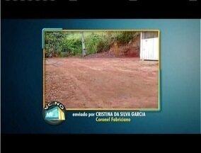VC no MG: Moradores de Fabriciano denunciam transtornos no Bairro Nova Tijuca - Falta de calçamento, mato alto e descaso têm incomodado população.