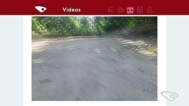 Menina Shirley agradece terreno limpo pela prefeitura em Cariacica ES - A menina de dez anos enviou um vídeo agradecendo.