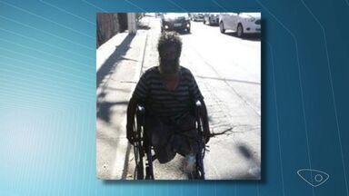 Morre cadeirante morador de rua que foi atropelado em Vitória - Fernando de Souza tinha 60 anos.