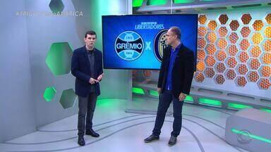Diogo Olivier faz previsões sobre o jogo Grêmio x Rosário Central - Assista ao comentário.