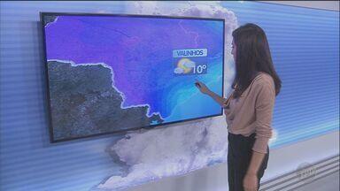 Previsão do tempo para esta quinta-feira é de frio - Probabilidade de chuva é menor. Temperaturas em Campinas ficam entre 14°C e 24°C.