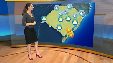 Campos de Cima da Serra tem previsão de dois graus negativos - Há chance de geada na faixa Norte do RS por causa da combinação de tempo aberto, frio e vento fraco.
