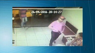 Bandidos fazem arrastão em autoescola em Campina Grande - As imagens do circuito de segurança registraram a ação.