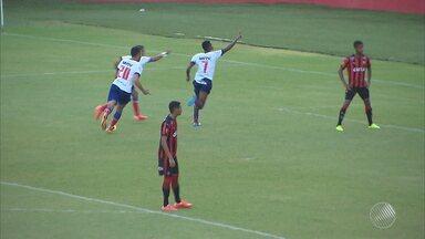 Bahia sai na frente na decisão do Baianão Sub-20 - Veja como foi o Ba x Vi.