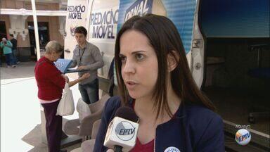 Projeto Redação Móvel acompanha Campanha de Vacinação em Ribeirão Preto, SP - Foram enviadas pelo Ministério da Saúde 55 mil doses da vacina contra o vírus influenza.