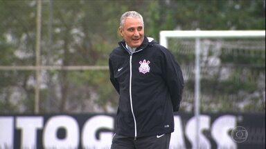 Tite sinaliza mudanças no time do Corinthians para o jogo de volta contra o Nacional - Alan Mineiro deve perder vaga entre os titulares