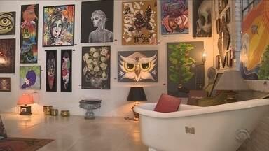 Projeto reúne arte de rua na Lagoa da Conceição, em Florianópolis - Projeto reúne arte de rua na Lagoa da Conceição, em Florianópolis