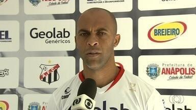 Anápolis aposta na experiência de Leandro Euzébio - Zagueiro é um dos destaques do Galo da Comarca na luta pelo título estadual.