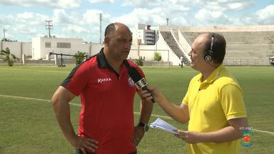 Treinador de goleiros do Campinense é o único do grupo que pode ser bicampeão do Nordeste - Alexandre Laguzza fala do jogo que pode entrar para a história da Raposa.