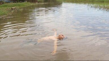 Encerramento do programa - Para economizar água vale tudo! A D. Maria Madalena, de Sorocaba, encontrou uma maneira de reutilizar a água da chuva. Dá só uma olhada!