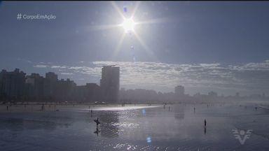 Festival de Longboard reúne atletas de todas as idades em Santos - Nomes de várias gerações do surf se juntaram para dois dias de belas ondas no Quebra-mar