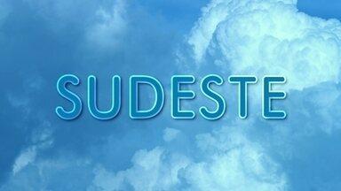 Tempo no Sudeste - Previsão do tempo na Região Sudeste no domingo (1º)
