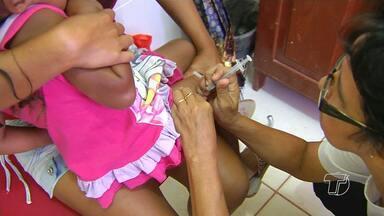 Dia 'D' de vacinação contra gripe H1N1 movimenta postos de saúde em Santarém - Vacinação começou as 8h e encerrou as 17h em bairros e comunidades da cidade.