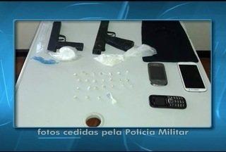 Em Brasília de Minas, 4 são detidos em operação de combate ao tráfico - Ação das polícias Civil e Militar foi realizada neste sábado (30).