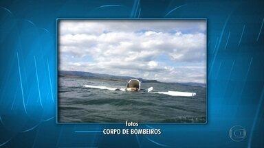 Queda de avião monomotor no Lago de Furnas deixa dois mortos - Acidente aconteceu em Guapé, no Sul de Minas.