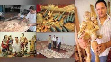 Ariston de Souza é escultor, restaurador e poeta. Conheça mais sobre o seu trabalho - Ariston de Souza é escultor, restaurador e poeta. Conheça mais sobre o seu trabalho