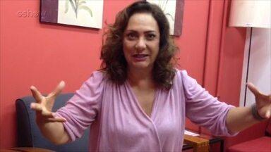 Eliane Giardini fala sobre a novela Êta mundo Bom - Confira!