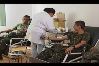 Araguari ganha posto avançado de coleta externa de sangue - Em média, 180 bolsas de sangue são entregues a três hospitais da cidade. Sangue coletado irá para o Hemocentro Regional de Uberlândia.