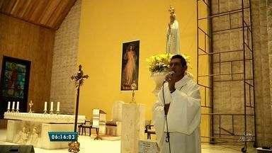 Fiéis visitam Santuário de Fátima da Serra Grande em São Benedito - Na próxima sexta-feira (13) são esperados milhares de pessoas, o dia marca a última aparição de Nossa Senhora de Fátima.