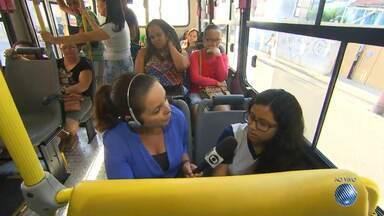 'Minha Vida no Buzu': reportagem mostra a rotina nos ônibus da capital baiana - Nesta terça (10) confira os detalhes do transporte que faz a linha que parte de Pirajá.