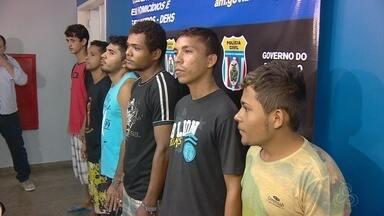 Polícia prende quadrilha suspeita de cometer vários crimes em Manaus - Entre eles a morte de Ana Cristina assassinada em frente de casa em março desse ano.