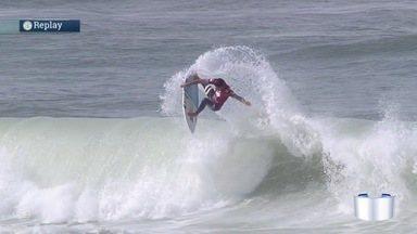 Começa a etapa do mundial de surfe do Rio de Janeiro - Quatro surfistas da região estão na competição