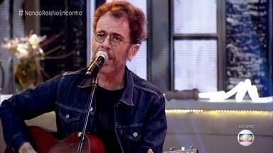 Nando Reis canta 'All Star' - Cantor lança novo trabalho apenas com voz e violão