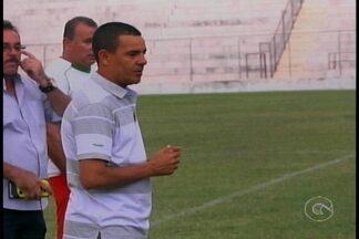 Novo técnico do Salgueiro foi apresentado ao time - Evandro Guimarães vai comandar a equipe na Série C.