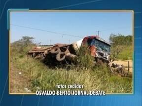 Homem morre em acidente em estrada vicinal - Ele era funcionário da Prefeitura de Epitácio.