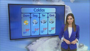 Confira a previsão do tempo para este domingo (15) no Sul de Minas - Confira a previsão do tempo para este domingo (15) no Sul de Minas