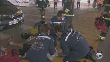 Viracopos tem ação para conscientizar sobre acidentes - O último dado da Emdec aponta 96 mortes no trânsito em Campinas.